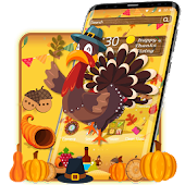 Thanksgiving Turkey 3D Theme