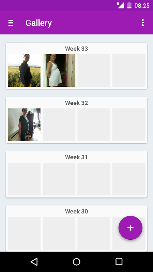 Pregnancy App - Expertli- screenshot