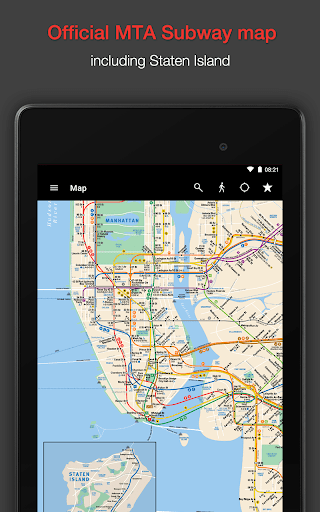 New York Subway – MTA map and routes of NYC Subway Screenshot