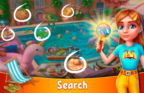 Hidden Resort: Adventure Bay MOD Apk 0.9.23 (Unlimited Keys/Coins) 4
