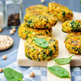 Pumpkin and Chickpea Fritter