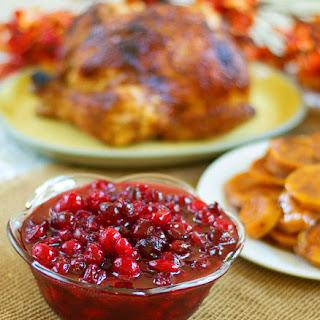 Cranberry Sauce.