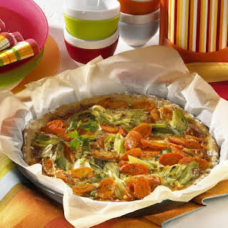 Leek and Carrot Pizza.