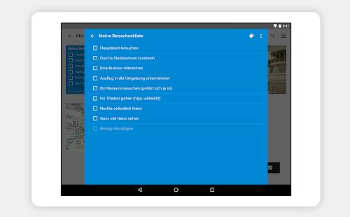Notebook -Notizen aufzeichnen Screenshot