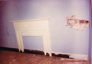 Photo: Victorian era mantel