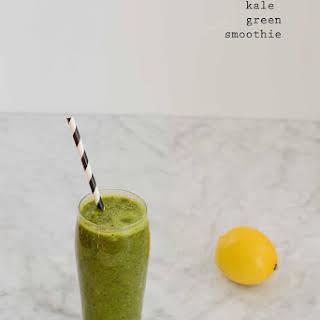 Kale Green Smoothie.