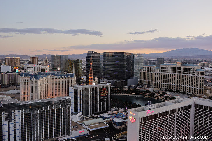 The High Roller Las Vegas - The Tallest Ferris Wheel in the World.