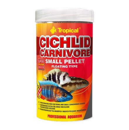Tropical Cichlid Carnivore Small Pellet 250ml/90g