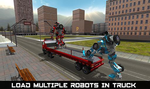 Car Robot Transport Truck  screenshots 4