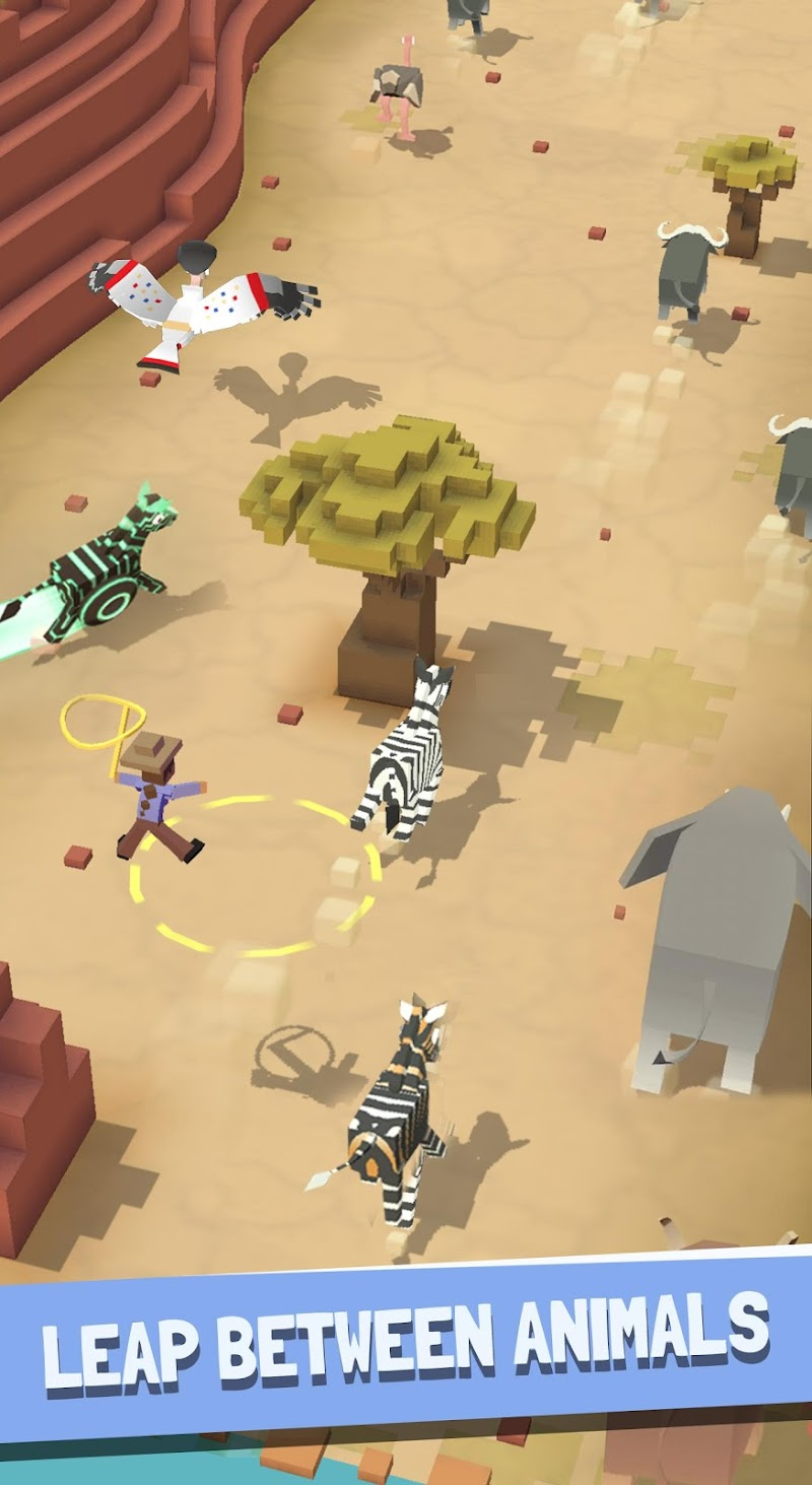 Rodeo Stampede:Sky Zoo Safari Screenshot 16