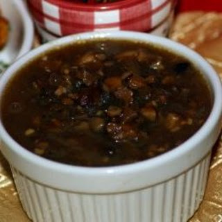 Portobello-marsala Sauce.