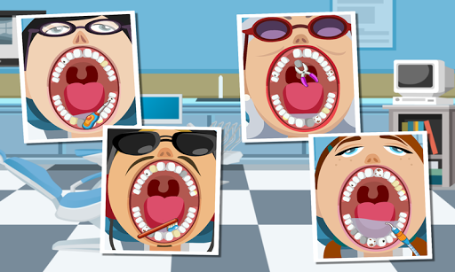 Happy Dentist - hospital game