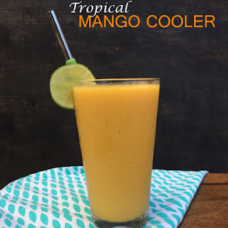 Tropical Mango Cooler (5 Ingredients) Recipe