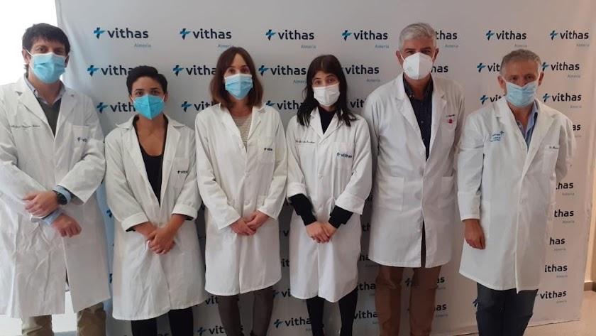 Expertos del Hospital Vithas Almería.
