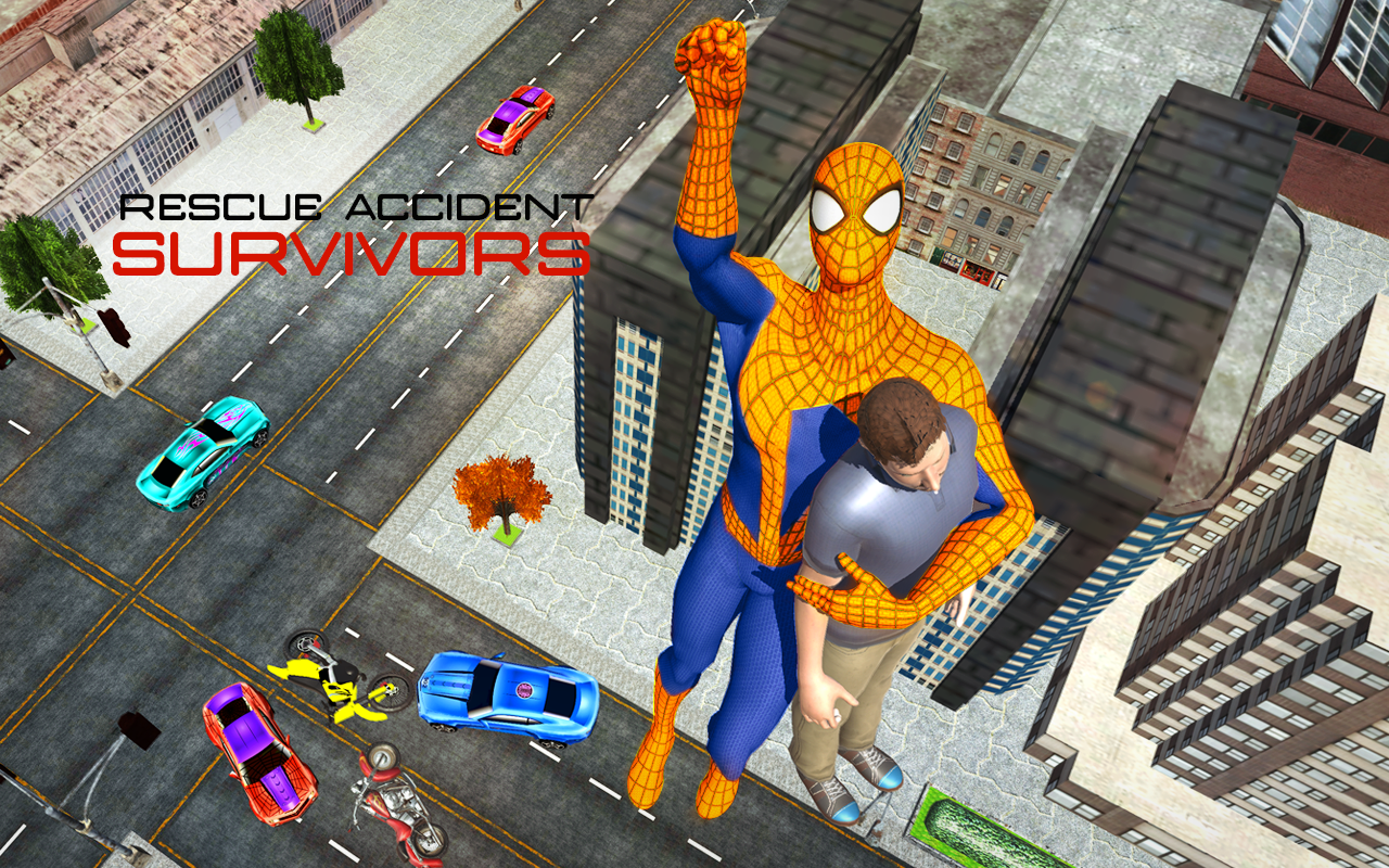 Spider Hero Transformer City Survival- screenshot