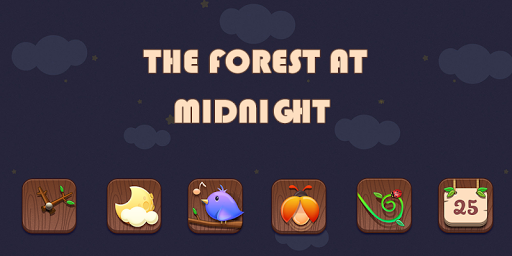 The forest at midnight Theme