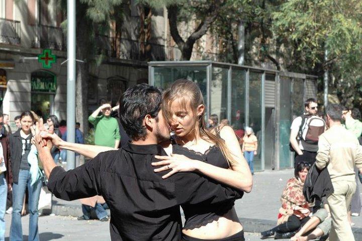 Ballerini di Tango di amaletti