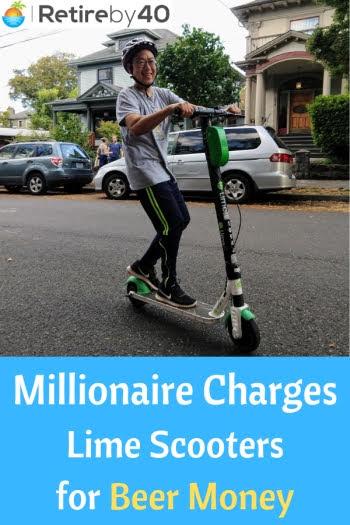 Милионерът таксува скутерите от вар за пари от бира