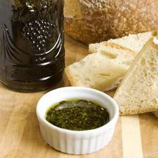 Spicy Oil and Vinegar Bread Dip.
