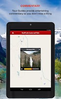 Screenshot of Banff-LakeLouise-Yoho GPS Tour