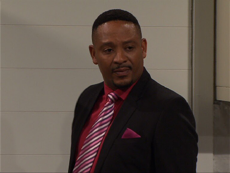 Muvhango's Ranthumeng's new storyline sees him playing the bad husband.