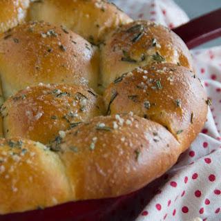 Rosemary & Garlic Dinner Rolls.