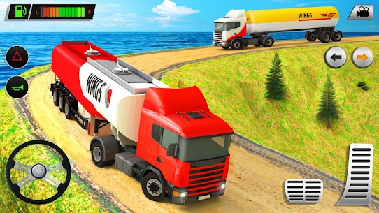 Offroad Oil Tanker Transport Truck Driver 2020 6