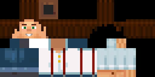 Minecraft Wallpaper 3d Herobrine Jesse Minecraft Story Mode By Li6r0 Hd Skin Nova Skin