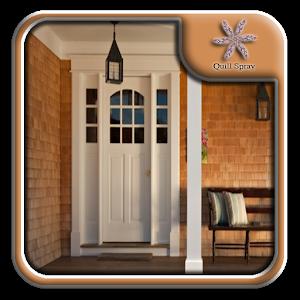 White entrance door design android apps on google play for Door design app