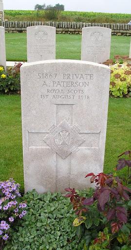 Alexander  Paterson grave