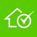Property Switzerland: Rent or buy apartment/house icon