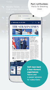The Straits Times Smartphone - náhled