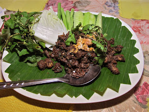Photo: northern beef laab with roasted spices and aromatic long pepper, Bai Fern
