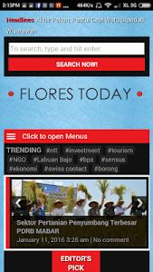 Flores Today screenshot 1