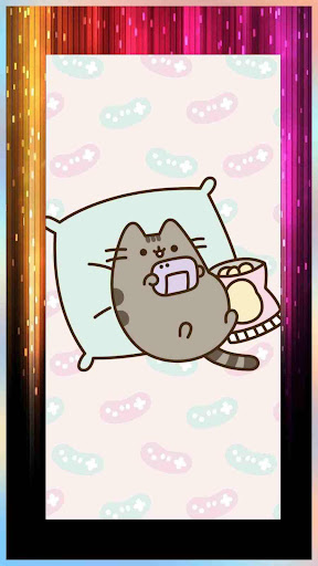Cute Pusheen Backgrounds & Kawaii Cat Wallpapers 1.0 screenshots 3