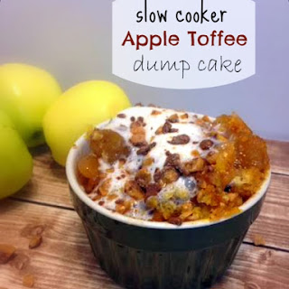 Toffee Apple Dump Cake