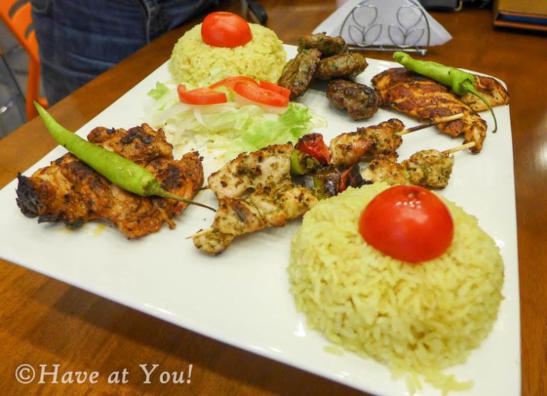 ottoman's platter