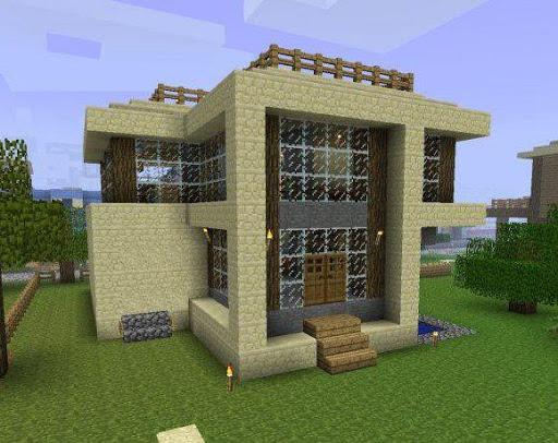 Simple Modern House Design for Minecraft 3.0 screenshots 1