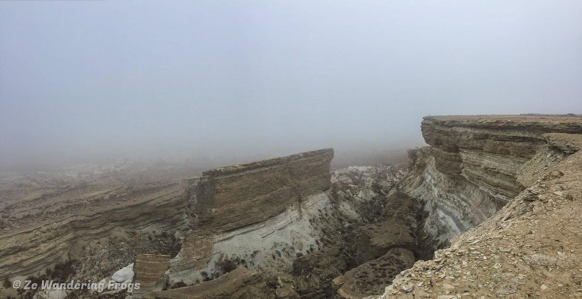 Off-the-Beaten Path Uzbekistan: A 3-Day Aral Sea Tour // Canyon on the Ustyurt Plateau