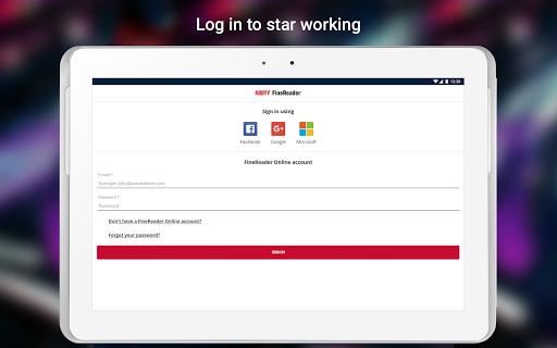 ABBYY FineReader client 1.1.0.5 screenshots 8