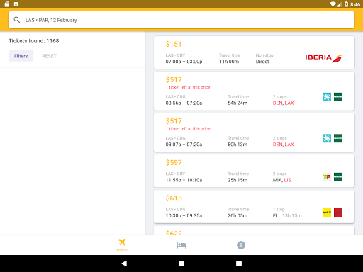 Airline Ticket Booking app screenshot 19