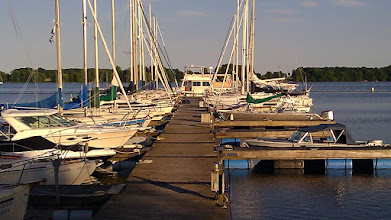 Photo: Why Knot at dock, Waupoos Marina, Waupoos, ON, CAN
