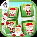 Match Santa Cards Kids Game icon