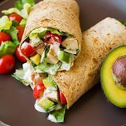 Caesar Avocado Wrap