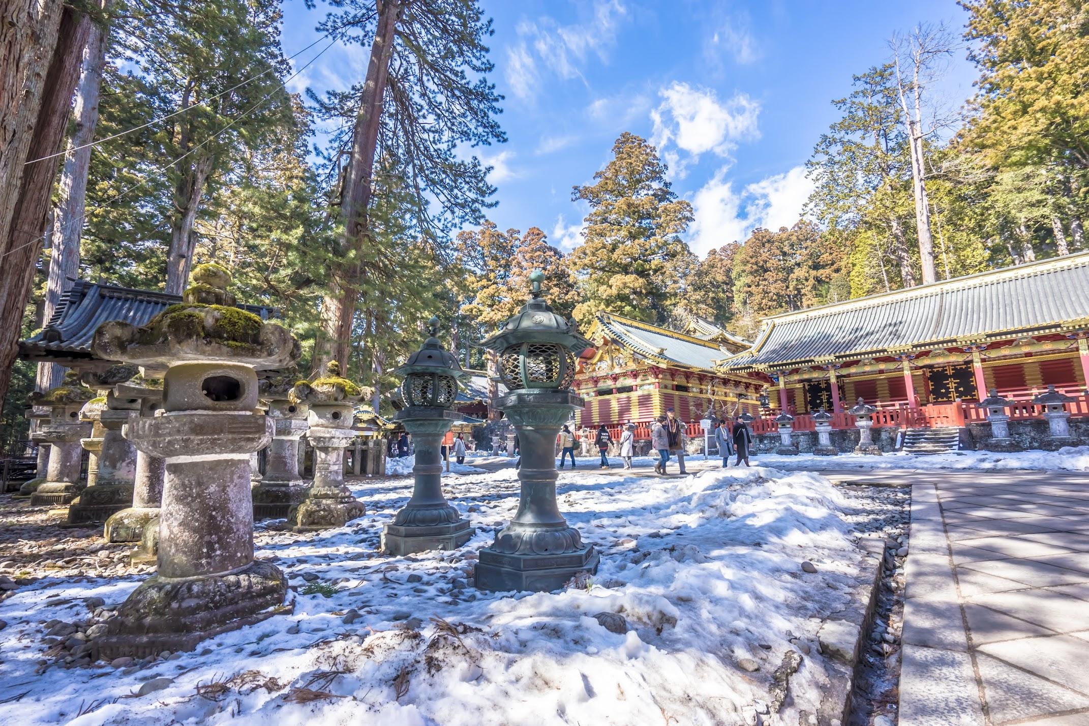 Nikko Toshogu Shrine Three Sacred Storehouses1