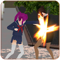 High School Girls Battle icon