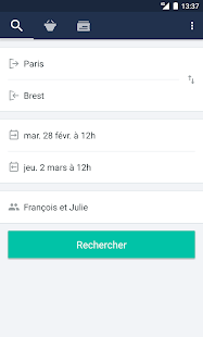Trainline EU: Billets de train – Vignette de la capture d'écran
