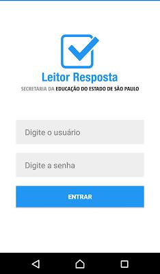 Leitor Resposta - screenshot