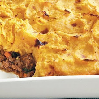 Sweet Potato-Topped Shepherd's Pie