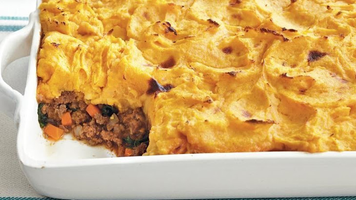 Sweet Potato-Topped Shepherd's Pie Recept | Yummly